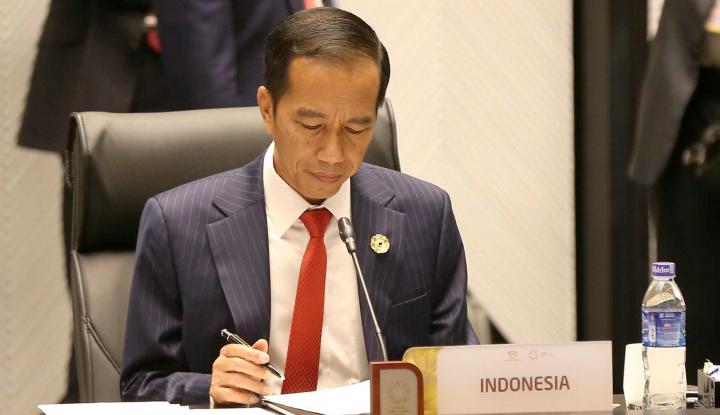 Foto Berita Presiden Jokowi Terima Surat Kepercayaan 9 Dubes