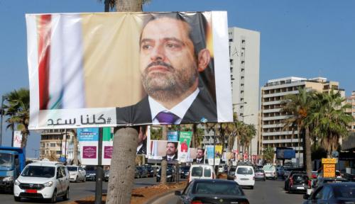 Foto Hariri Bakal Terangkan Posisinya Pasca Sampai di Lebanon
