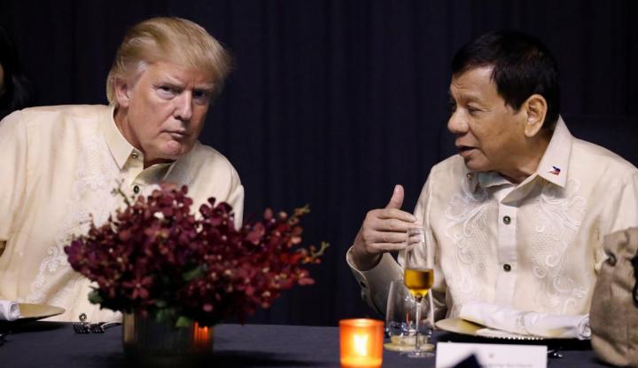 Foto Berita Tuduhan Pelanggar HAM, Duterte: Lebih Baik Saya Ditembak