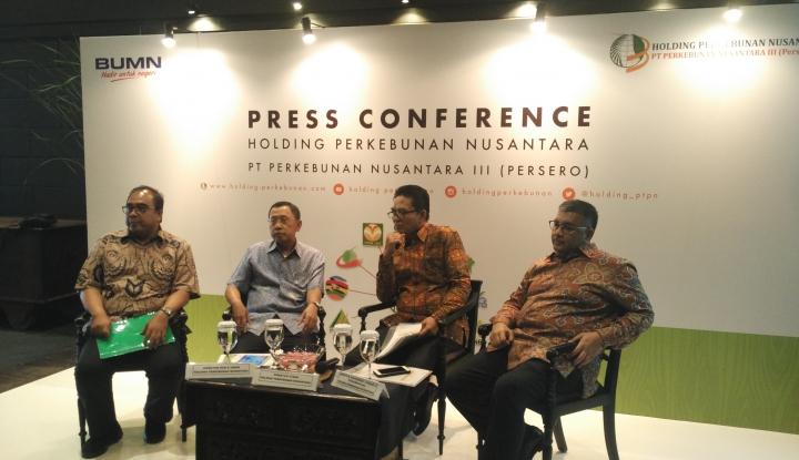 Foto Berita Tumbuh 214 persen, Holding PTPN III Bukukan Laba Rp921 Miliar