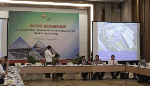 Foto INASGOC: Palembang Siap Selenggarakan Asian Games