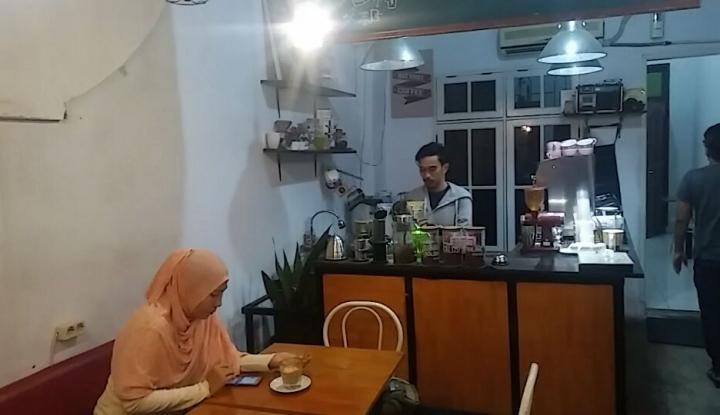 Foto Berita Mengintip Pebisnis Kopi di Mokka Coffee & Eats