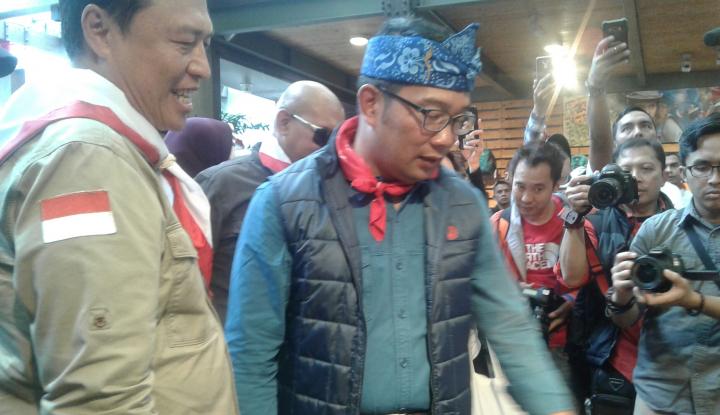 Foto Berita Ridwan Kamil Kumpulkan Dana Kampanye dari 12 Posko