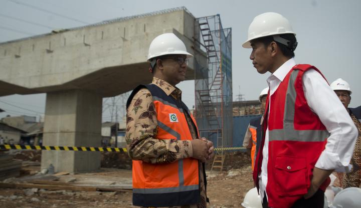 Foto Berita Pembangunan Infrastruktur, Jokowi: Jangan Andalkan APBN Terus