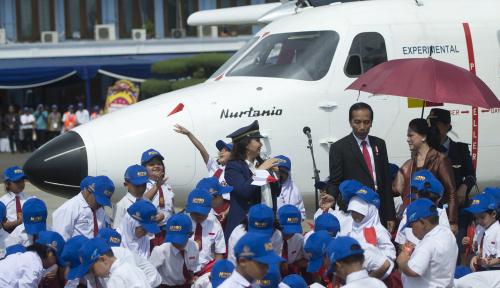 Foto Meksiko Akan Beli Pesawat Nurtanio