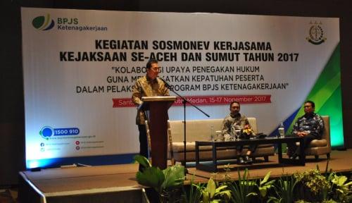 Foto 2018, BPJS TK Sumut-Aceh Fokuskan Kepesertaan Pada PWBD