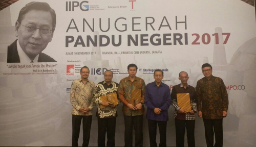 Foto Lagi, Jabar Sabet Anugerah Pandu Negeri 2017