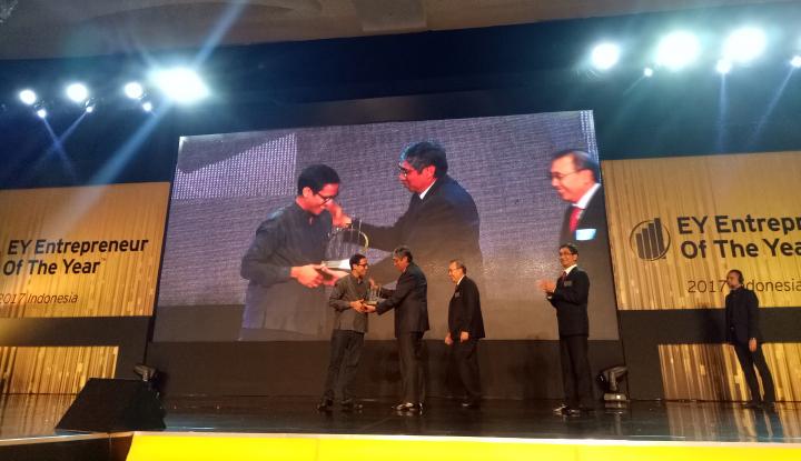 Go-Jek Dianugerahi EY Indonesia Entrepreneur Of The Year 2017 - Warta Ekonomi
