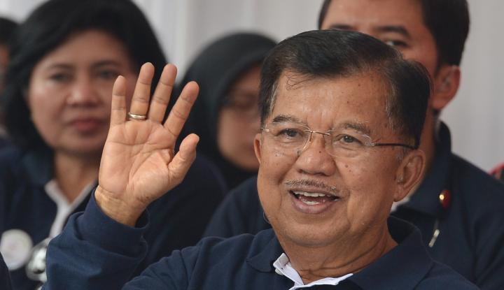 Foto Berita JK: Indonesia Harus Dapat 16 Emas di Asian Games