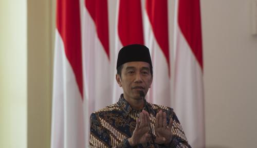 Foto Jokowi Minta Pemuda Muhammadiyah Jaga Kesatuan