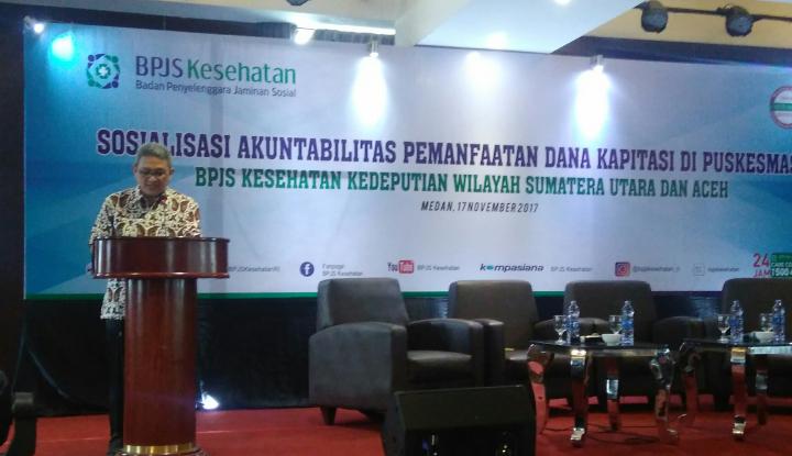 Foto Berita Hingga Oktober 2017, BPJS Kesehatan Sumut Bayar Nilai Kapitasi FKTP Rp500 Miliar