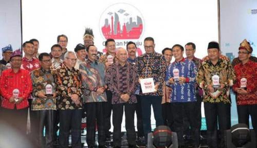 Foto Makassar Sabet Smart City Award 2017
