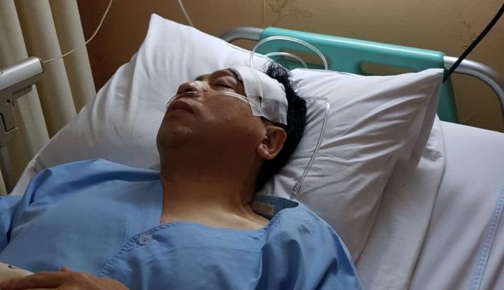 Foto Berita Tragedi Luka Segede 'Bakpao', Satpam RS Tahu Novanto Pura-Pura Pingsan