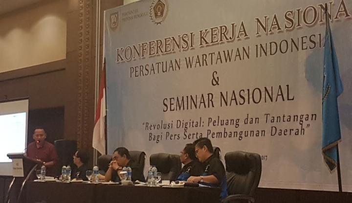 Foto Berita PWI: Media Online Masih Punya Banyak PR Hadapi Digitalisasi