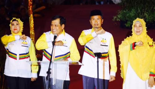 Foto Nurdin Halid Ikrarkan 4 Poin Kontrak Politik untuk Rakyat Sulsel