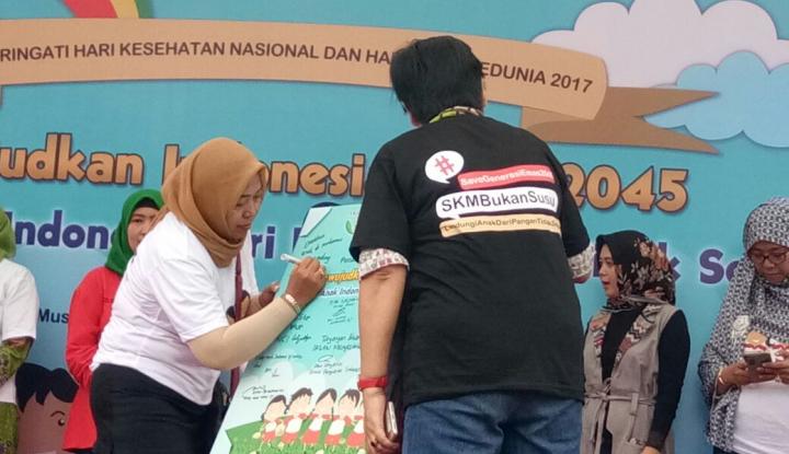 Foto Berita Pemerintah-LSM Tandatangani Petisi Lindungi Anak dari Pangan Tak Sehat