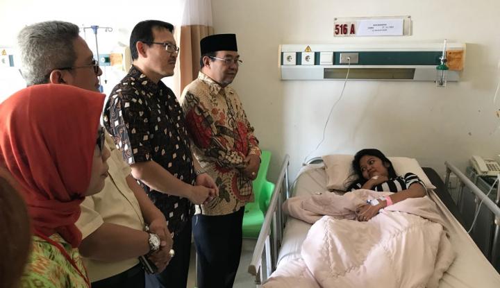Foto Berita Pantau Pelayanan, Bos BPJS Kesehatan Kunjungi RS Bunda Thamrin Medan