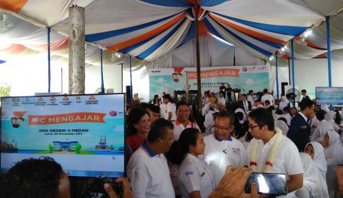 Foto Peduli Pendidikan, HUT Ke-25 IPC Gelar Mengajar Hingga Kota Medan