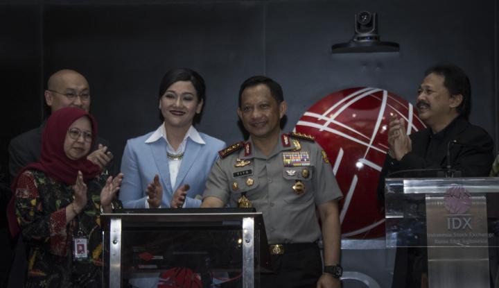 Foto Berita Kapolri Bicara Ekonomi Indonesia, Begini Katanya