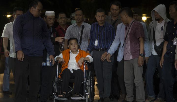 Foto Berita Jaksa Tolak Pledoi Setya Novanto