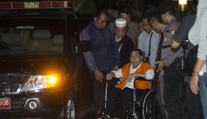 Foto Berita Pindahan ke Rutan KPK, Dokter: Setnov Tak Perlu Rawat Inap di RS