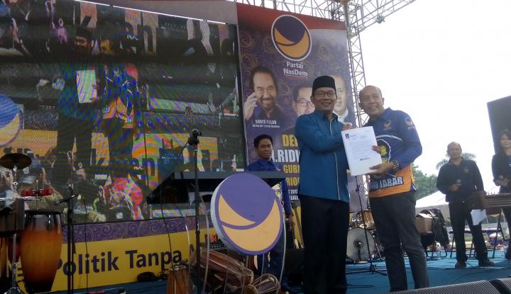 Foto Berita Nasdem Siapkan Pendamping Ridwan Kamil di Pilgub Jabar