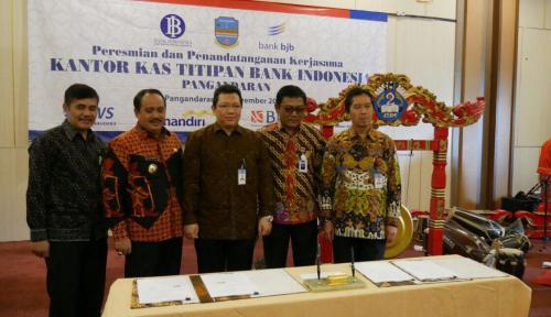 Foto BI Jabar Resmikan Kas Titipan ke 106 di Indonesia