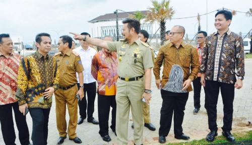 Foto Pemprov Sulsel-BPJS TK Bangun RTH di Kawasan Reklamasi Makassar