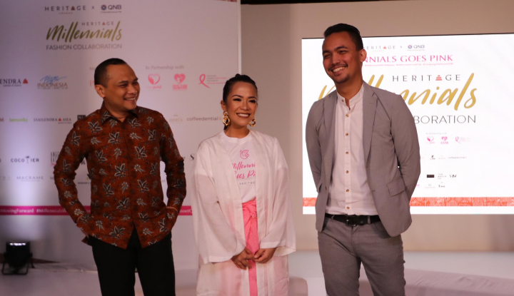 Luncurkan Produk Milenial 'DooEt',  Bank QNB Dukung Heritage Millenials Fashion Collaborations