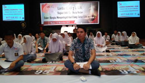 Foto HUT ke-6, OJK Kenalkan Literasi Keuangan Pada Pelajar di 46 SMA se-Kota Medan