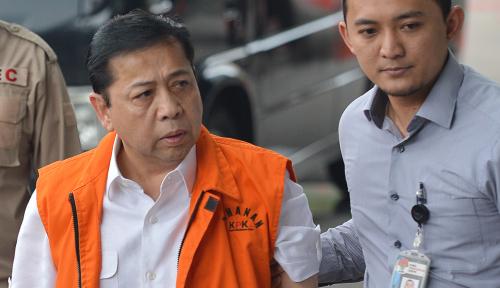 Foto Kesaksiannya Dianggap Tak Signifikan, KPK Bakal Tolak Pengajuan Novanto?