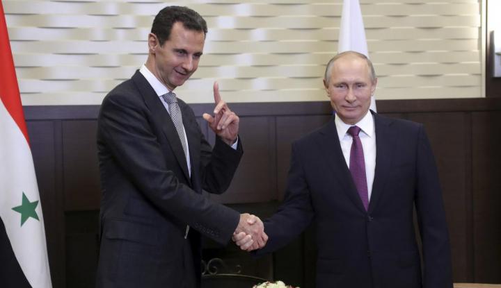 Foto Berita AS Bakal Serang Suriah, Putin Desak DK PBB Gelar Rapat