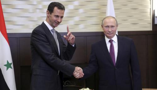 Foto AS Tuding Rusia dan Suriah Telah Hilangkan Bukti Serangan Kimia di Douma
