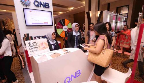 Foto Total Aset QNB Group Naik 13%
