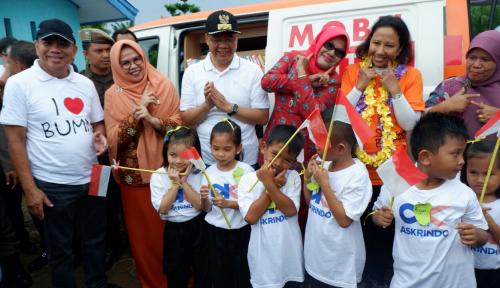 Foto Kini Mobil Pintar Askrindo Hadir di Bengkulu