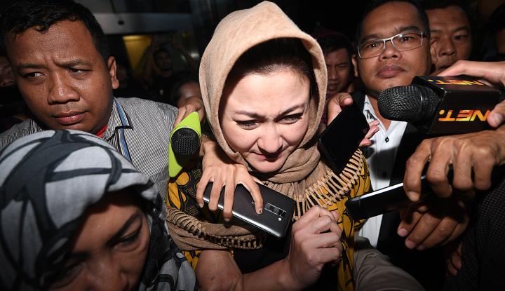 Foto Berita KPK Konfirmasi Pemblokiran Rekening Anak-Istri Novanto