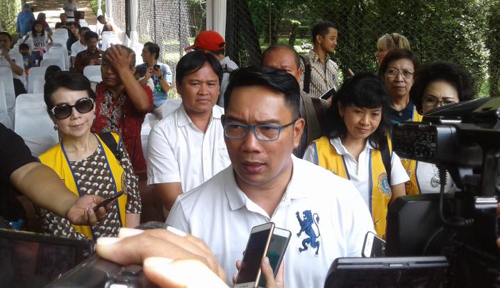 Foto Berita Survei Poltracking, Nama Ridwan Kamil Masih Terdepan