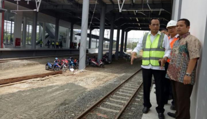 Foto Berita Pembangunan Rel Ganda Bogor-Sukabumi Rampung 2020, Kata Menhub