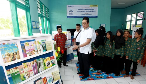 Foto BTN Berikan Bantuan Pendidikan untuk SMP 25 Bengkulu