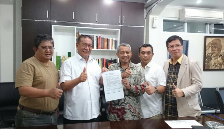 Foto Berita Sah, Tiga Partai Resmi Usung Demiz-Syaikhu