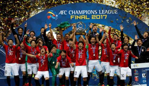 Foto Tim Jepang Juarai Liga Champion Asia