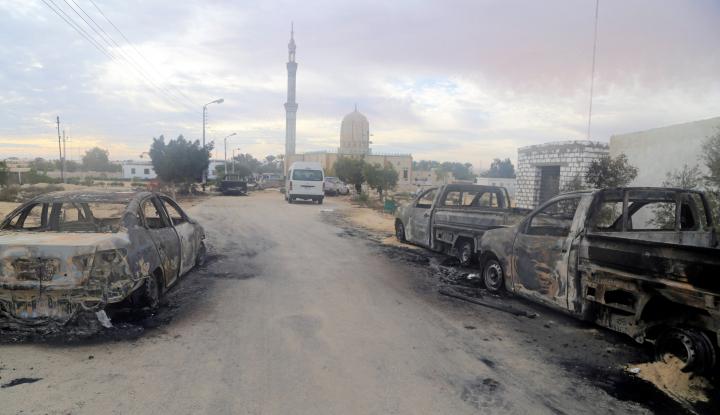 Foto Berita Mesir Hukum Mati 10 Orang Terlibat Teroris