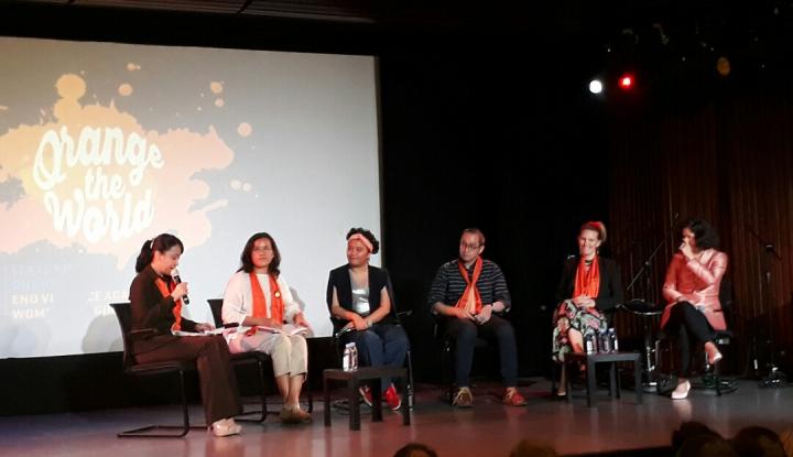 Foto Berita IFI Kampanyekan Orange The World