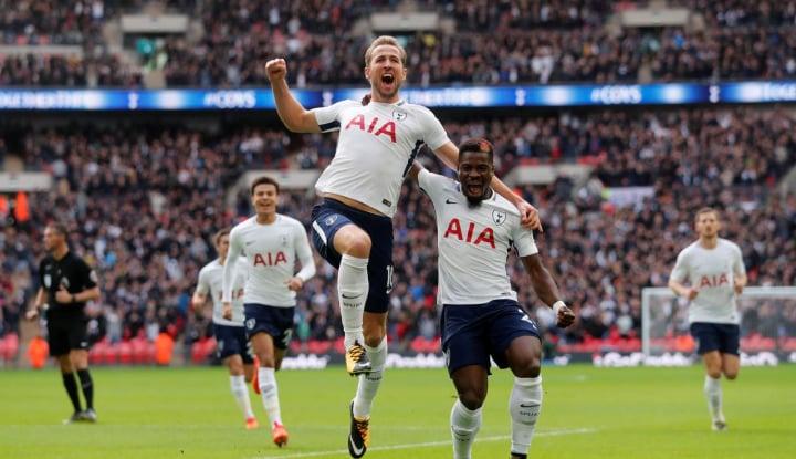 Foto Berita Kane Amankan Hasil Imbang Tottenham Hotspur