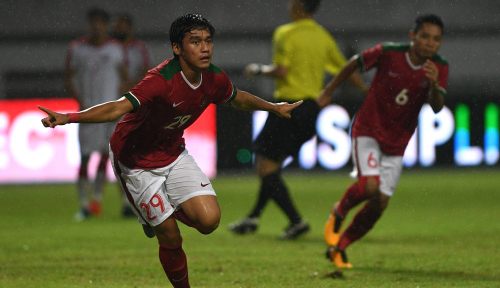 Foto Timnas U-23 Taklukkan Singapura 3 Gol Tanpa Balas