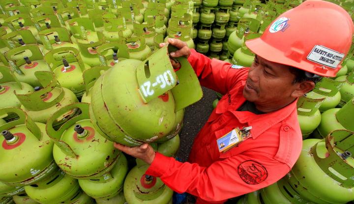 Foto Berita Pertamina Kalbar Pasok 15.680 Tabung Gas Subsidi