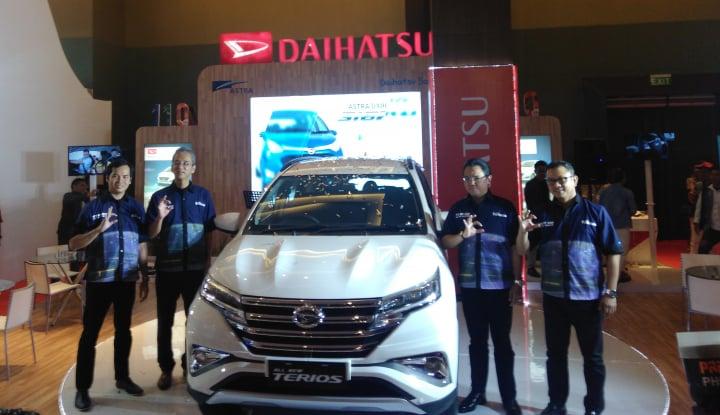 Foto Berita Pameran GIIAS Medan 2017, Daihatsu Pamer All New Terios