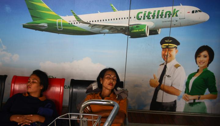 Foto Berita Aktivitas Vulkanik Gunung Agung, Citilink Batalkan Penerbangan Dari & Menuju Bali