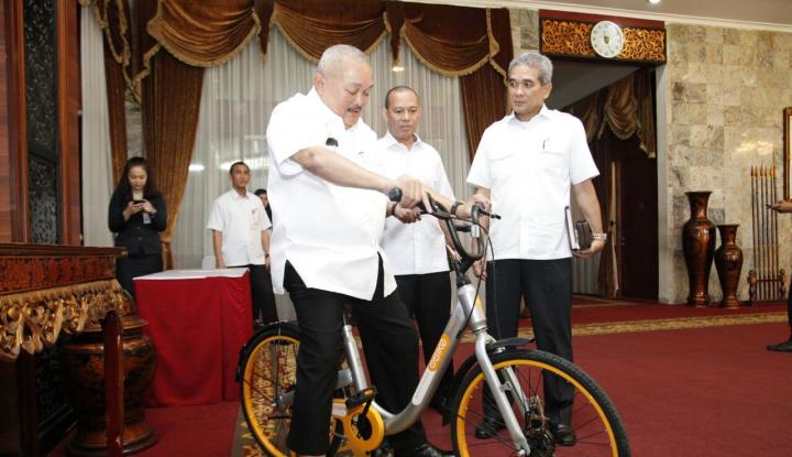 Foto Berita  Wow, Obike Tawarkan Bicycle Sharing Gratis di JSC