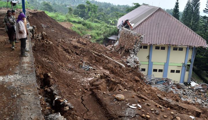 Foto Walhi: Banjir-Longsor Dipicu Buruknya Tata Kelola DAS